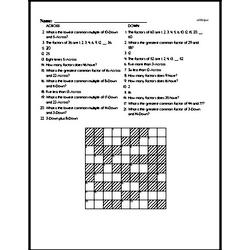 Number Theory Puzzle - GCF, LCM, and Factors