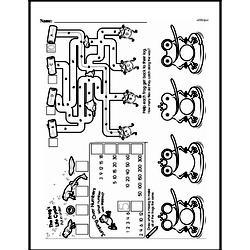 Pattern Worksheets - Free Printable Math PDFs Worksheet #96