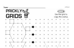 Pattern Worksheets - Free Printable Math PDFs Worksheet #79