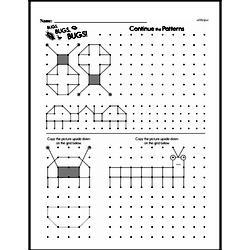 Pattern Worksheets - Free Printable Math PDFs Worksheet #24