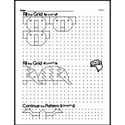 Pattern Worksheets - Free Printable Math PDFs Worksheet #21