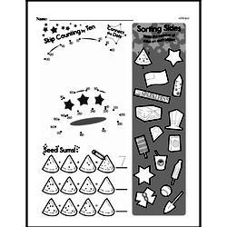 Pattern Worksheets - Free Printable Math PDFs Worksheet #59