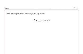 Subtraction - Three-Digit Subtraction Workbook (all teacher worksheets - large PDF)