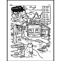 Fourth Grade Subtraction Worksheets - Three-Digit Subtraction Worksheet #3