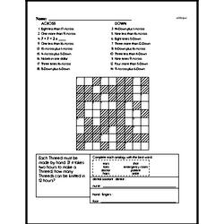 Fourth Grade Subtraction Worksheets - Two-Digit Subtraction Worksheet #8