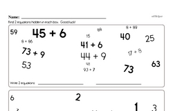 Fourth Grade Subtraction Worksheets - Two-Digit Subtraction Worksheet #9