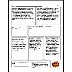 Fourth Grade Subtraction Worksheets - Two-Digit Subtraction Worksheet #10