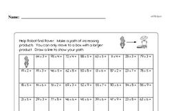 Fourth Grade Subtraction Worksheets Worksheet #11