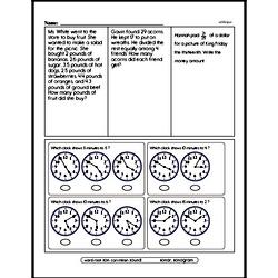 Subtraction Worksheets - Free Printable Math PDFs Worksheet #306