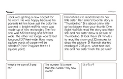 Fourth Grade Subtraction Worksheets Worksheet #14