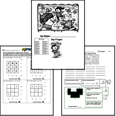 Winter Activity Book for January