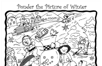 Writing Activity - Ponder the Winter Picture