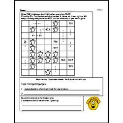 Free Fifth Grade Addition PDF Worksheets Worksheet #5