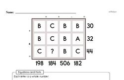 Free Fifth Grade Addition PDF Worksheets Worksheet #6