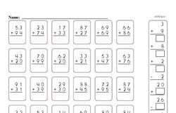 Addition Worksheets - Free Printable Math PDFs Worksheet #562