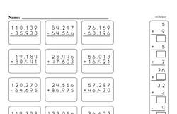 Addition Worksheets - Free Printable Math PDFs Worksheet #643