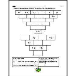 Addition Worksheets - Free Printable Math PDFs Worksheet #434