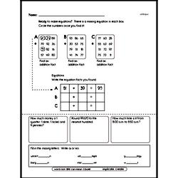 Addition Worksheets - Free Printable Math PDFs Worksheet #274