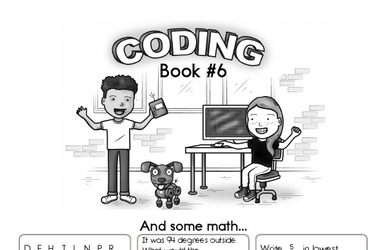 Coding for Kids Workbook #6