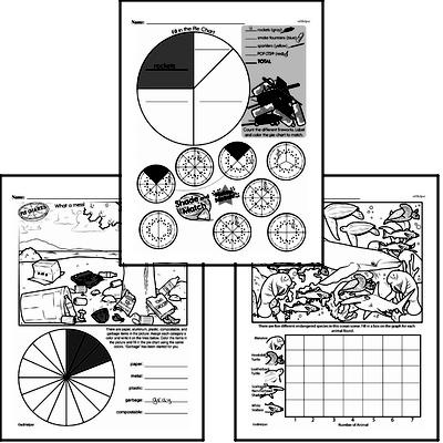 Data - Collecting and Organizing Data Workbook (all teacher worksheets - large PDF)