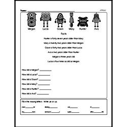 Fifth Grade Data Worksheets - Collecting and Organizing Data Worksheet #1