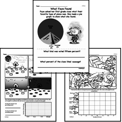 Data - Graphing Workbook (all teacher worksheets - large PDF)