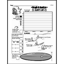 Free Fifth Grade Data PDF Worksheets Worksheet #18