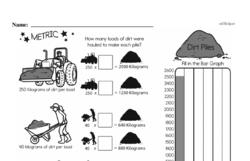 Free Fifth Grade Data PDF Worksheets Worksheet #17