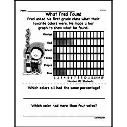 Free Fifth Grade Data PDF Worksheets Worksheet #19