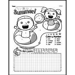 Free Fifth Grade Data PDF Worksheets Worksheet #20