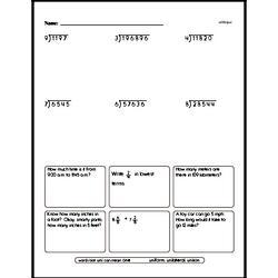 fifth grade division worksheets division without. Black Bedroom Furniture Sets. Home Design Ideas