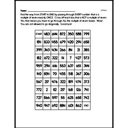Division Worksheets - Free Printable Math PDFs Worksheet #19