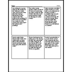 Division Worksheets - Free Printable Math PDFs Worksheet #16