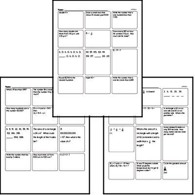 Enrichment Mixed Review PDF Book
