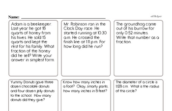 Enrichment Word Problems Challenge Book
