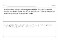 Fun Enrichment Problems PDF Page - Easier
