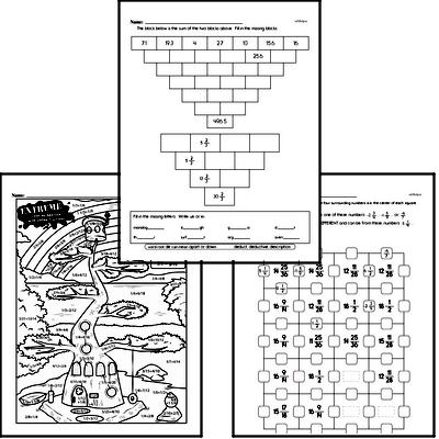 Fifth Grade Fractions Worksheets - Adding Fractions ...