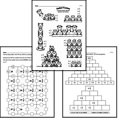 Fractions Mixed Math PDF Book