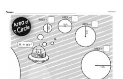 Free Fifth Grade Geometry PDF Worksheets Worksheet #20