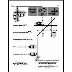 Free Fifth Grade Geometry PDF Worksheets Worksheet #3