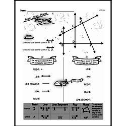 Free Fifth Grade Geometry PDF Worksheets Worksheet #6