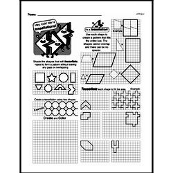 Geometry Worksheets - Free Printable Math PDFs Worksheet #155