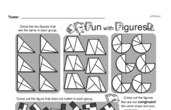 Geometry Worksheets - Free Printable Math PDFs Worksheet #45