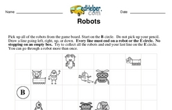 Logic Math Challenge with Robots