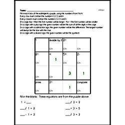 Math Logic Puzzle - Super Challenge Problems - Difficult