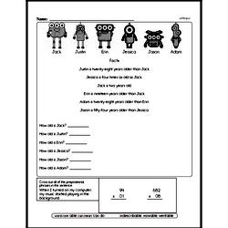 Free Fifth Grade Math Challenges PDF Worksheets Worksheet #6