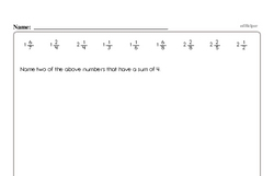 Free Fifth Grade Math Challenges PDF Worksheets Worksheet #11