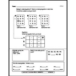 Free Fifth Grade Math Challenges PDF Worksheets Worksheet #16