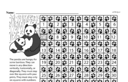 Free Fifth Grade Math Challenges PDF Worksheets Worksheet #32
