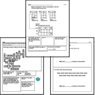 Math Minutes Mixed Math PDF Book